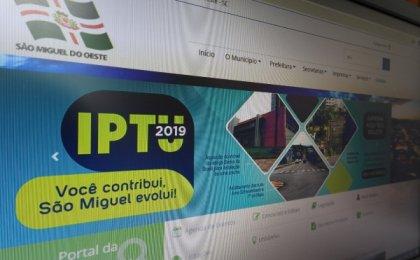 Município já arrecadou R$ 3,5 milhões com IPTU 2019