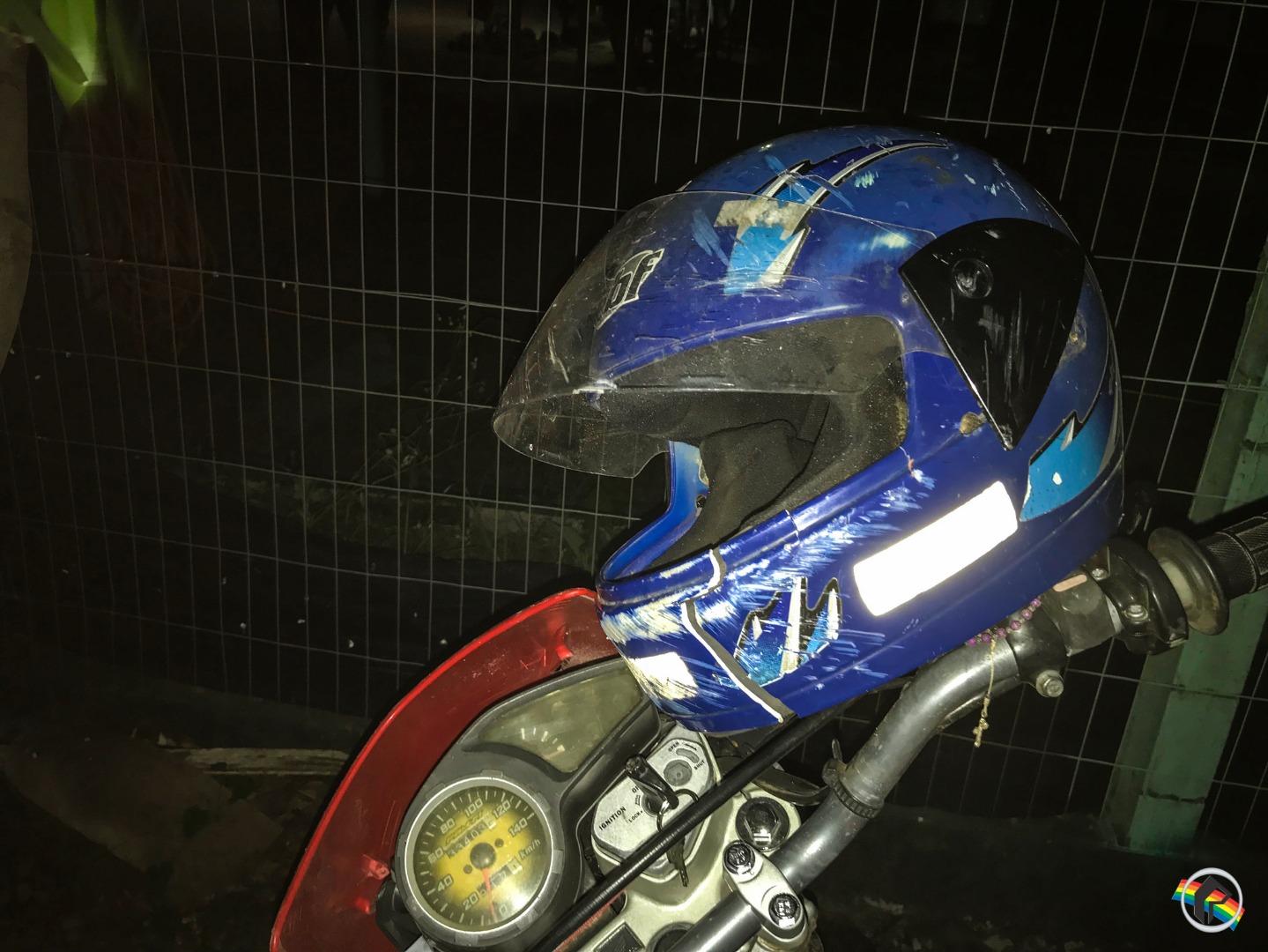 VÍDEO: Queda de moto deixa homem ferido na BR-163