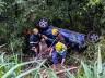 VÍDEO: Ex-rainha da Faismo sofre acidente na BR-282 em São Miguel do Oeste