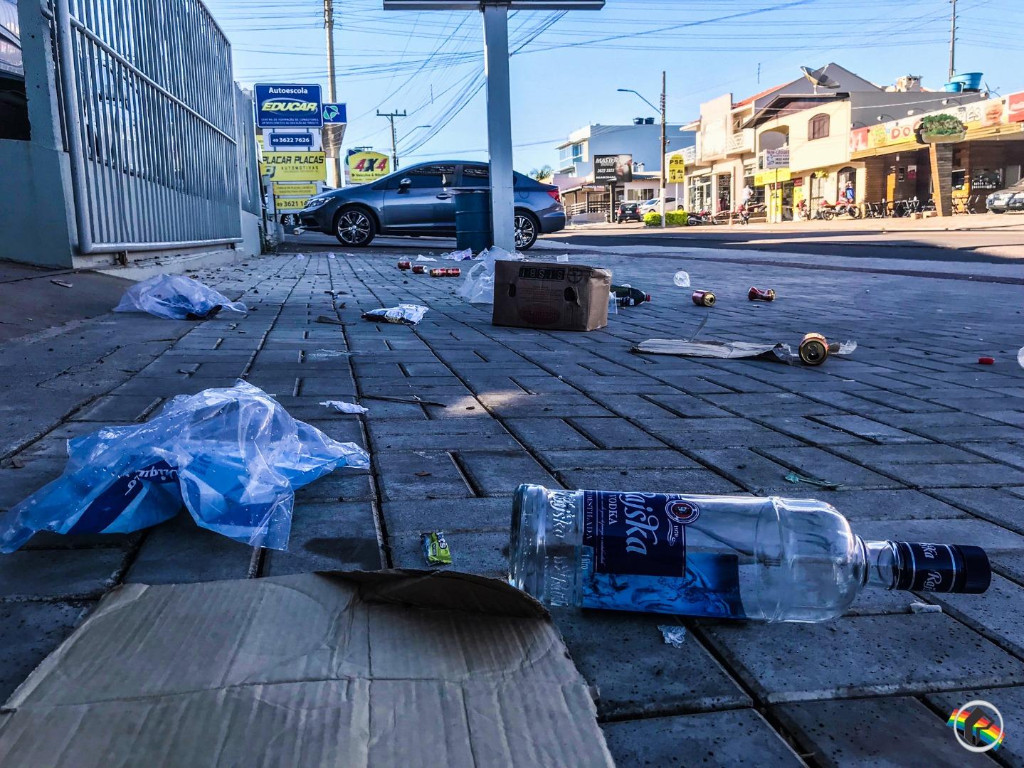 Reunião discutirá consumo de bebidas em vias públicas