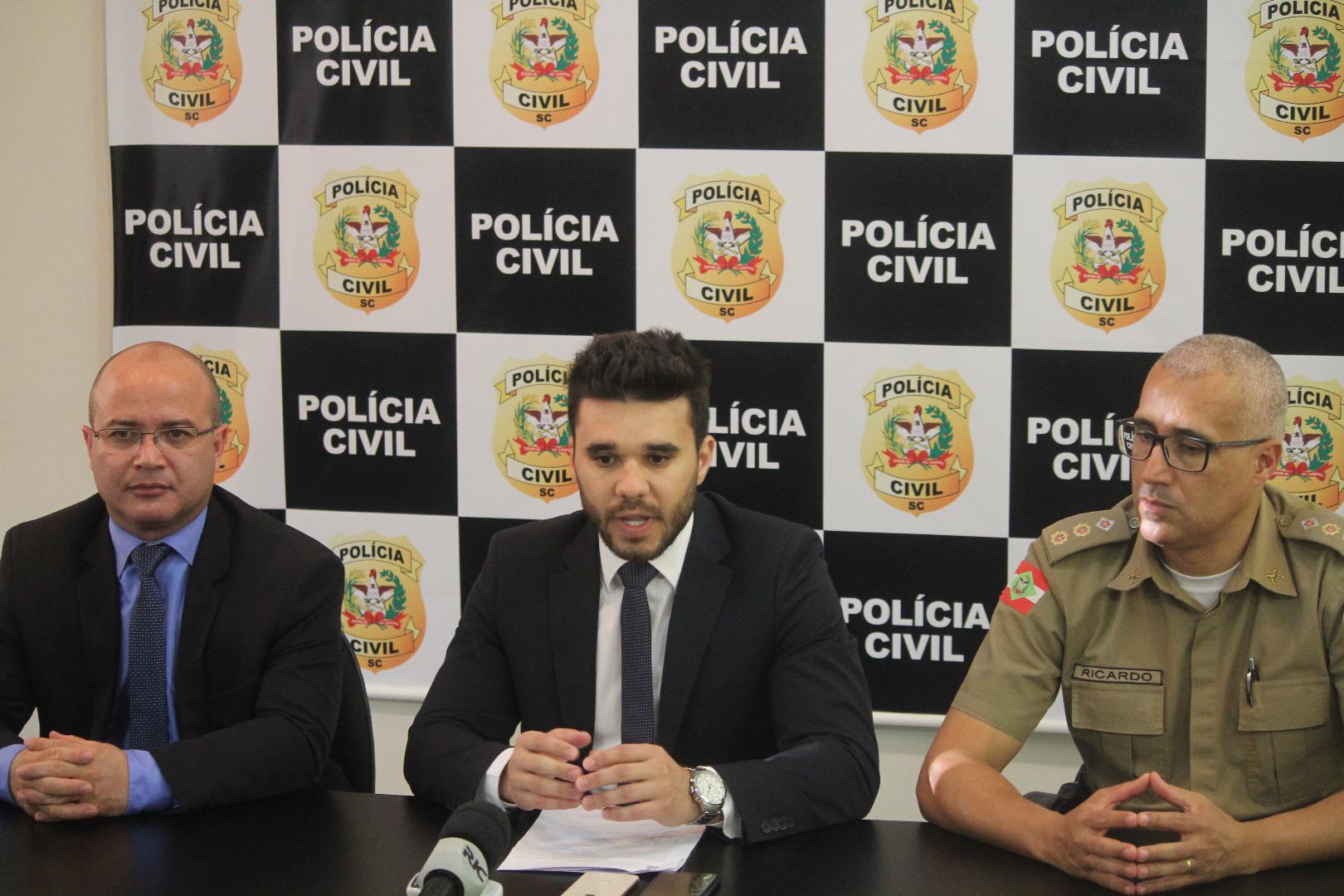 Polícias de Chapecó prendem suspeitos de homicídio de motoqueiro