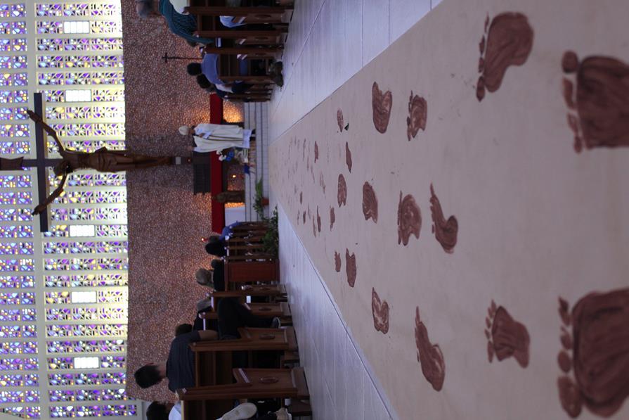 La Salle Peperi realiza celebração e almoço de Ação de Graças