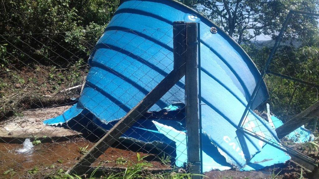 Vandalismo provoca falta de água em comunidades de Itapiranga