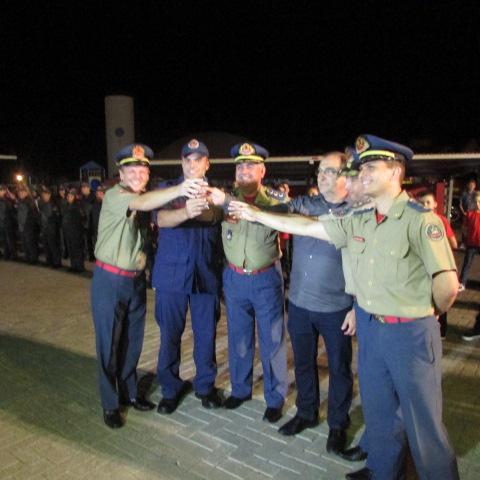 Corpo de Bombeiros de Guaraciaba comemora 11 anos de instalação