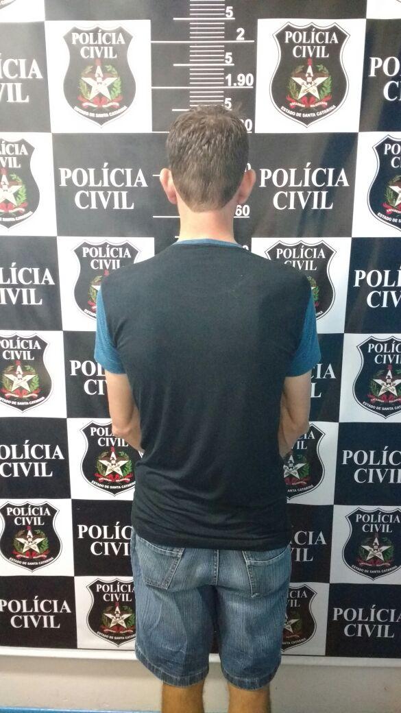 Polícia prende autor de violência sexual
