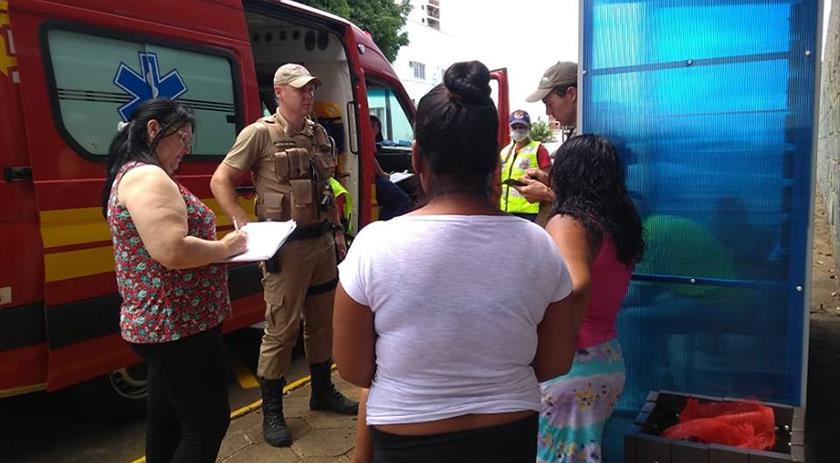 Menino indígena agredido no centro de São Miguel do Oeste