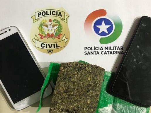 Polícia Civil prende traficantes de drogas