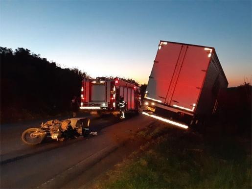 Motoqueiro morre em acidente na PR-280