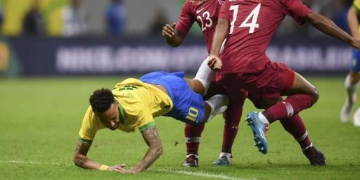 Brasil vence Catar por 2 a 0 em amistoso marcado por lesão de Neymar