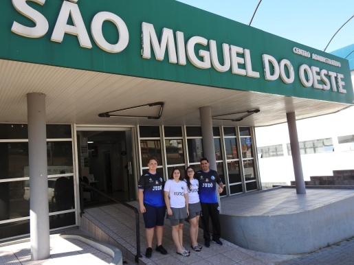 São Miguel é destaque da Seleção Catarinense Sub-15 de Judô