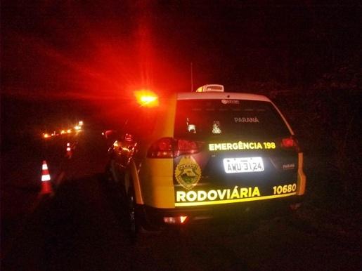 Motorista morre em colisão com árvore na PR-884