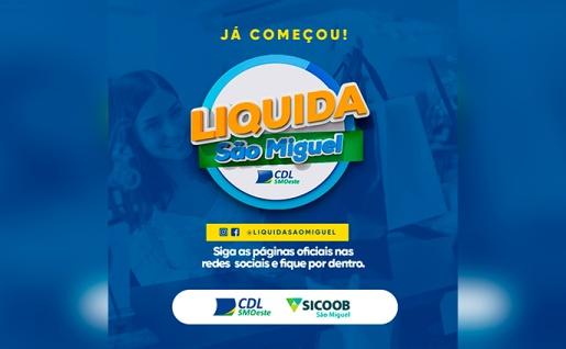 ATENÇÃO: Liquida São Miguel avança para os últimos dias
