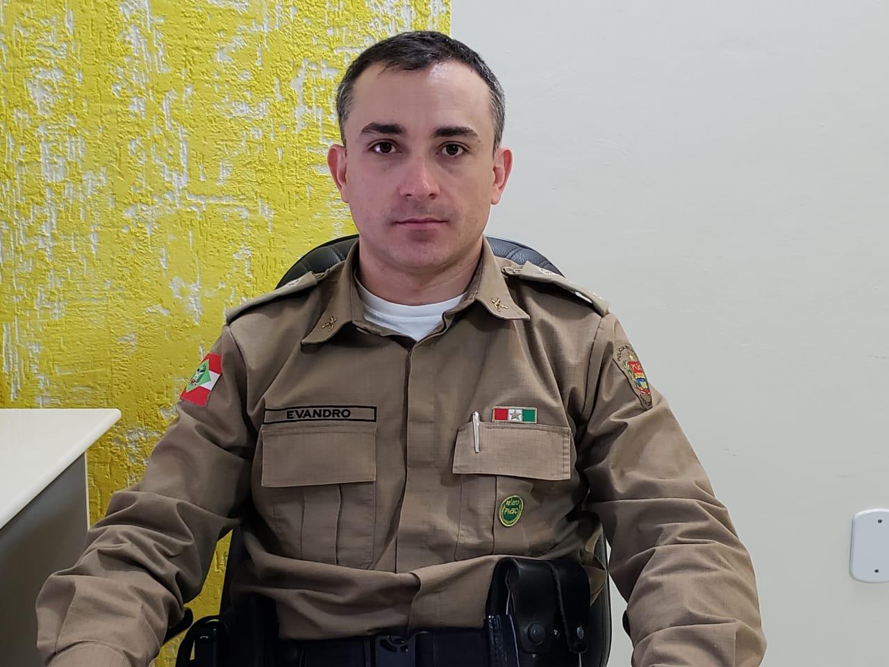 Major Evandro Vieira assume comando da 3ª Companhia de Polícia Militar Rodoviária