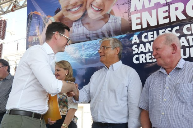 Governador inaugura subestação da Celesc em Maravilha