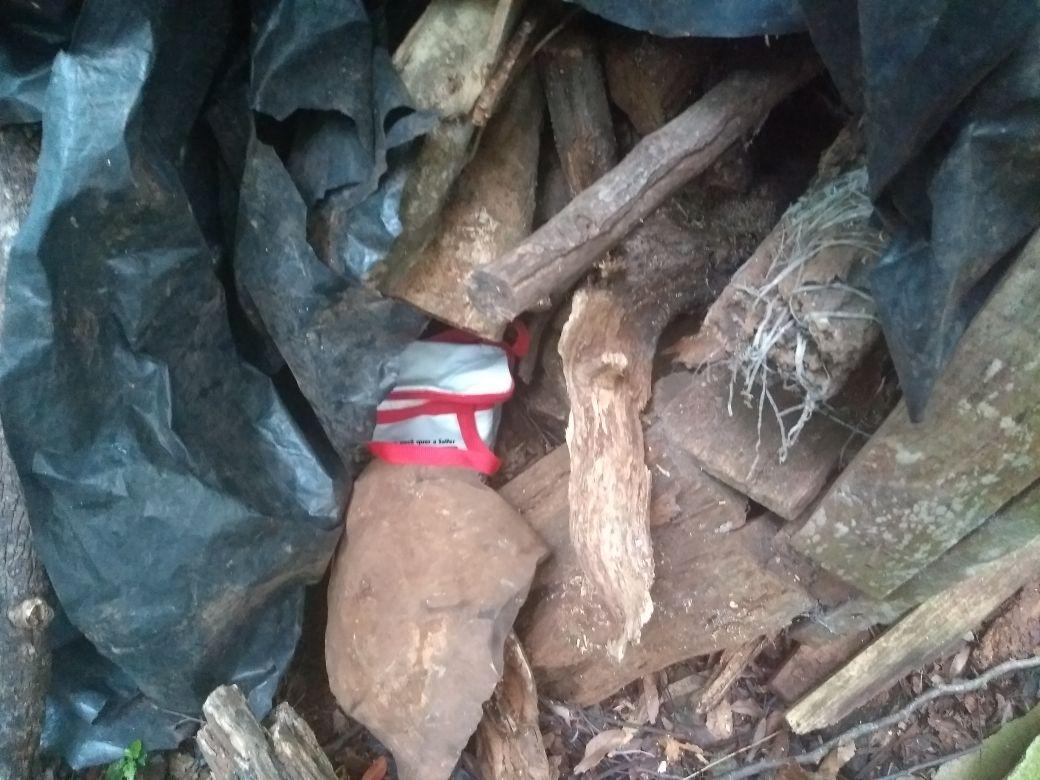 Polícia Militar encontra tablete de maconha no interior de Descanso