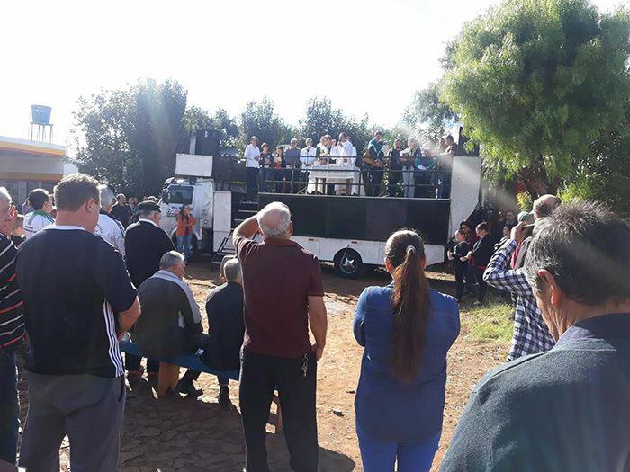 Missa dos caminhoneiros reúne comunidade