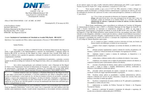 OUÇA: Recuperação da Willy Barth é responsabilidade do município, diz DNIT