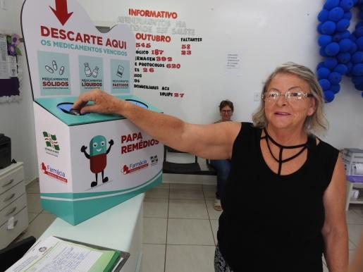 Papa Remédios é distribuído em locais públicos do município