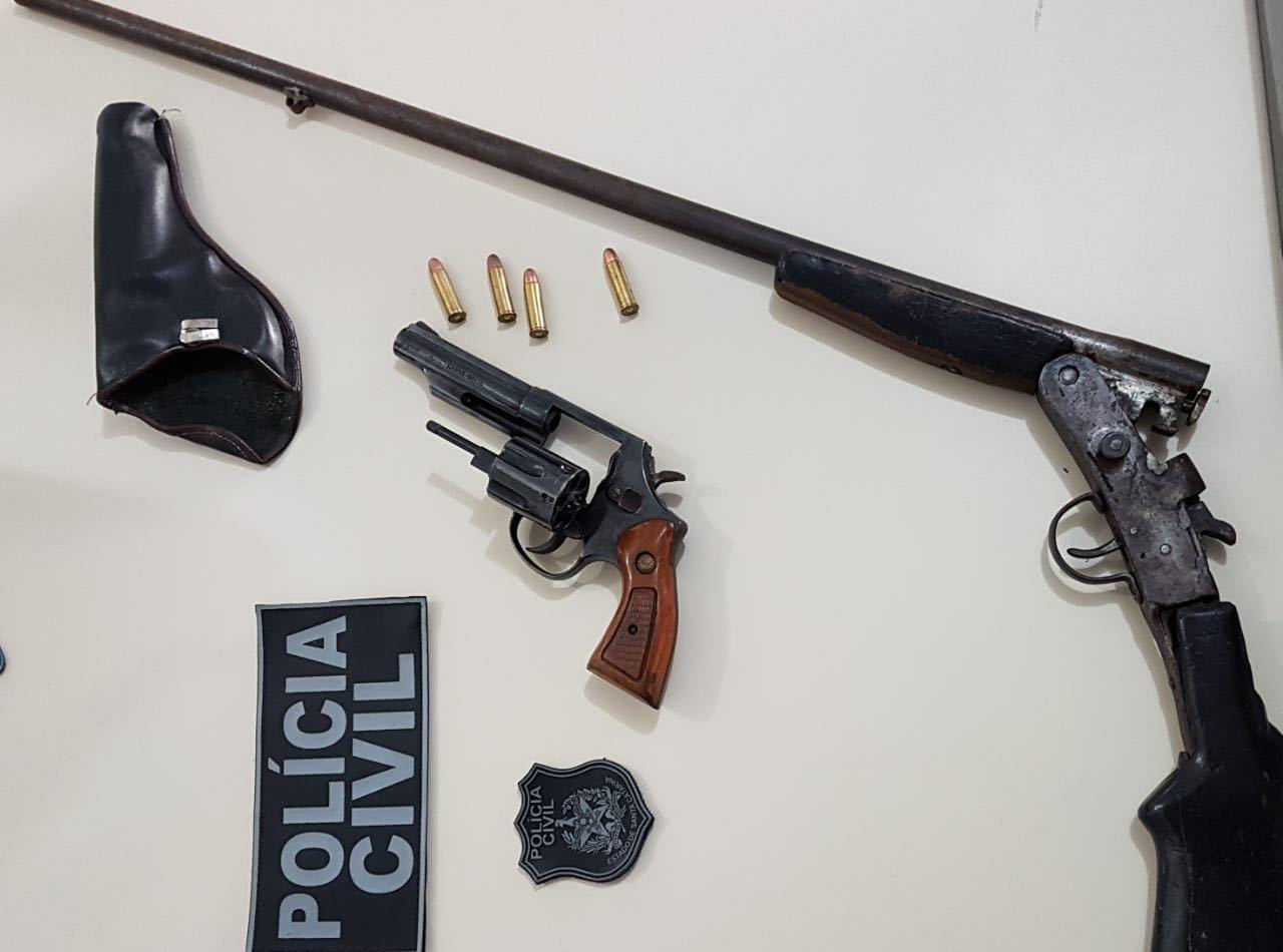 Homem é preso com arma de fogo durante operação