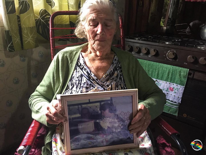 Peperi recebe umas das primeiras moradoras de Bandeirante