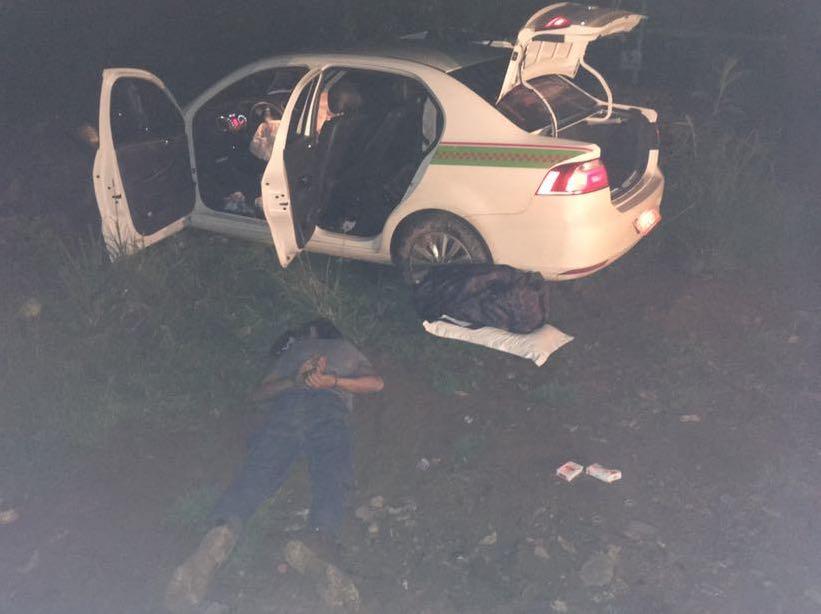 Taxista de Pinhalzinho é sequestrada e levada para Blumenau como refém dos bandidos