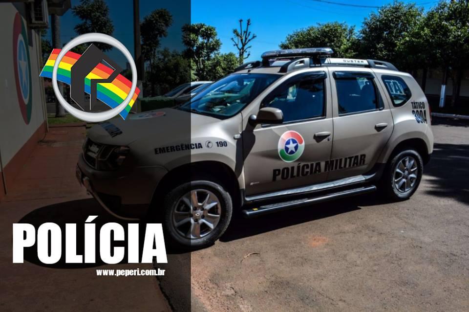 Casal é preso após acidente de trânsito em Itapiranga