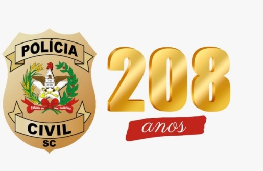 Polícia Civil comemora 208 anos arrecadando mais de cinco toneladas de alimentos