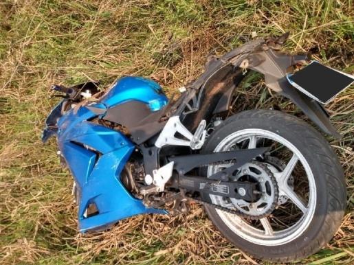 Motociclista sofre queda e fica ferido na BR-282
