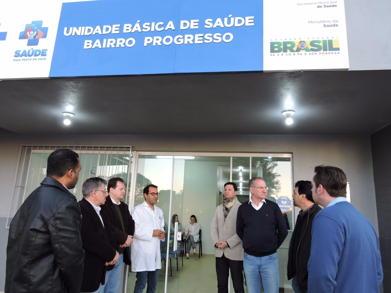 Posto de saúde do bairro Progresso entra em funcionamento