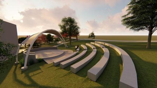 Princesa terá praça moderna com espaço para esporte, lazer e cultura