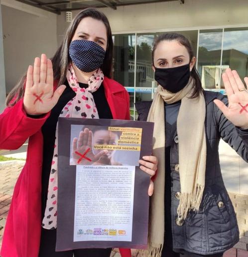 Lançada campanha Sinal Vermelho contra a violência doméstica em Princesa