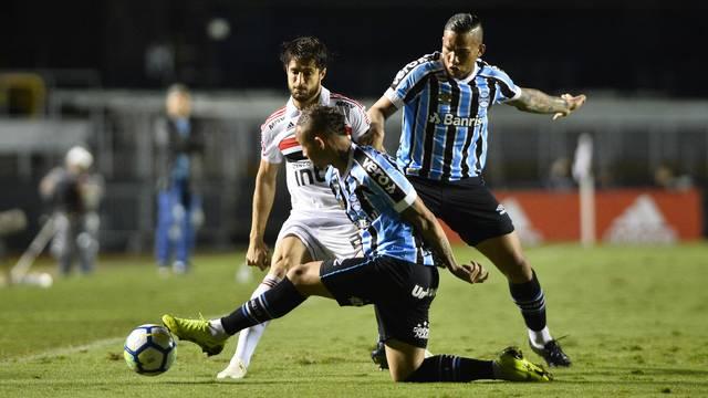 Grêmio e São Paulo empatam pelo Brasileiro 2018