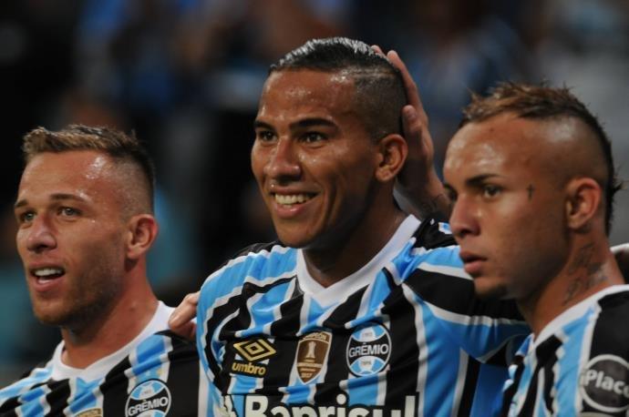 VÍDEO: Grêmio goleia o Monagas por 4 a 0 na Arena pela Libertadores