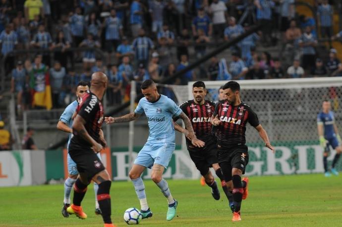 VÍDEO: Grêmio e Atlético-PR empatam em bom jogo na Arena