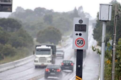 Pardais das rodovias federais do RS e de SC são religados