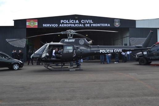Serviço Aeropolicial de Fronteira já realizou quase 700 missões em 2019
