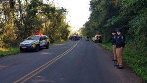 Uma pessoa morre e outra fica gravemente ferida na PR 182