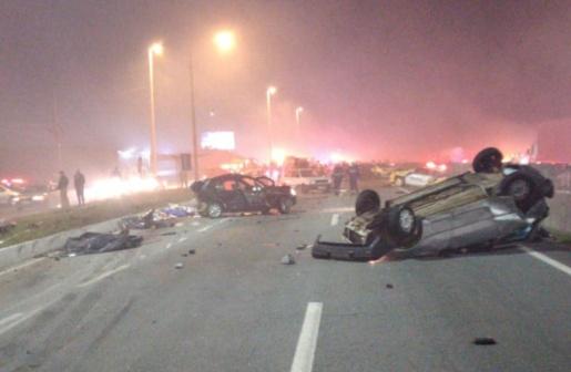 Tragédia: Acidente deixa pelo menos sete mortos e 30 feridos no Paraná