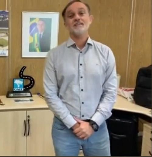 BR 163: Superintendente Estadual do DNIT esclarece manifestação realizada em vídeo
