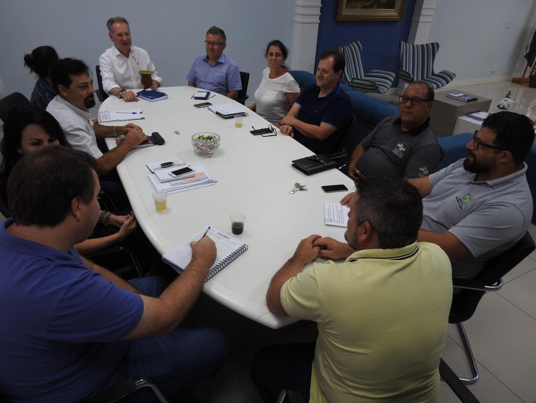 Aniversário do Município é tema da reunião dos secretários