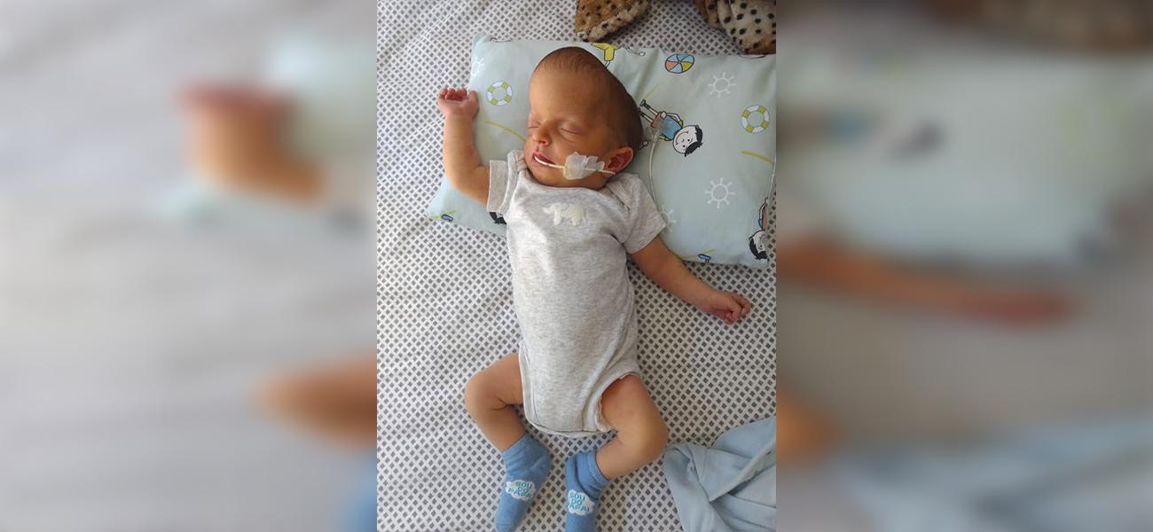 Família realiza campanha para cirurgia em filho com doença rara