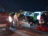 Veículo de SMOeste se envolve em acidente com óbito na BR-282 em Pinhalzinho