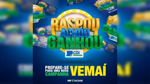 SMO: Campanha Raspou, Achou, Ganhou da CDL bate recorde em adesão