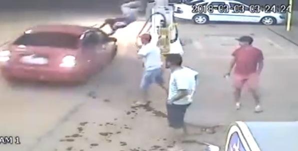 Briga generalizada termina em atropelamento em São José do Cedro