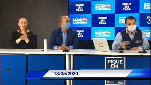 VÍDEO: Governador Carlos Moisés fala sobre os respiradores