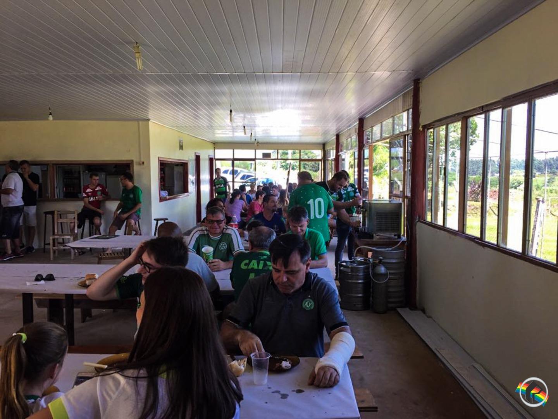 Show de Bola é feito da confraternização do Consulado da Chapecoense