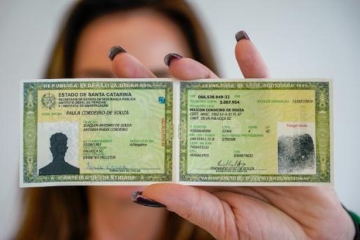Valor de emissão da nova carteira de identidade sofre reajuste