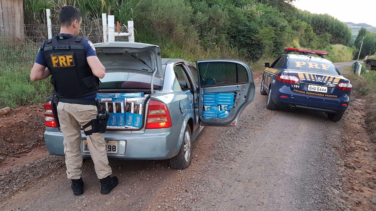 Polícia apreende dez mil maços de cigarros contrabandeados na BR-163