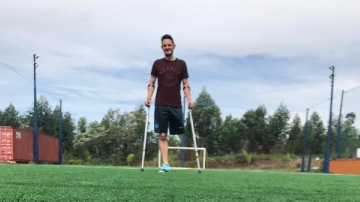 VÍDEO: Atleta do município disputará a Copa do Brasil de Futebol de Amputados
