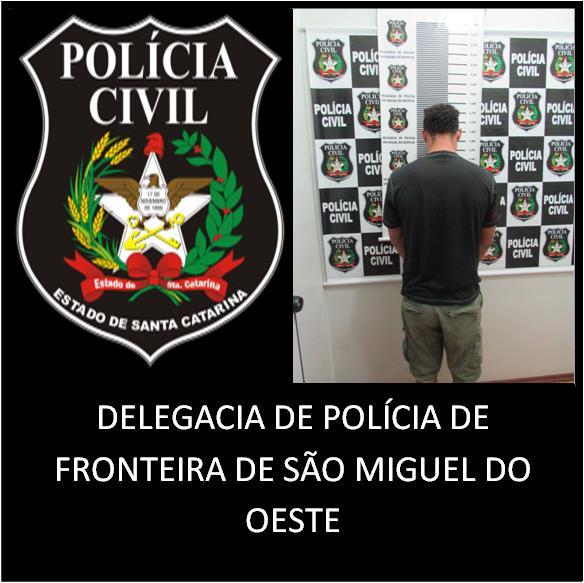 Polícia Civil prende mais um dos autores de tentativa de latrocínio no município